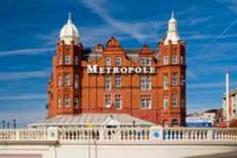 Grand Metropole Hotel - Two night Blackpool break for two including breakfast - Save 51%