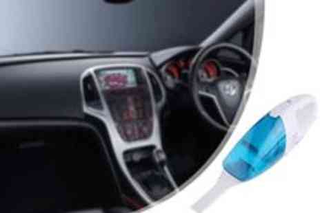 Gadgets and More - Light weight Car Vacuum - Save 45%