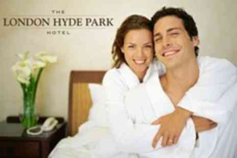 London Hyde Park Hotel - Overnight Stay in Deluxe Room For Two With Wine, Breakfast - Save 34%