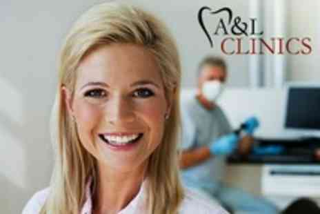 A and L Clinics - Dental Exam With Scale and Polish - Save 66%
