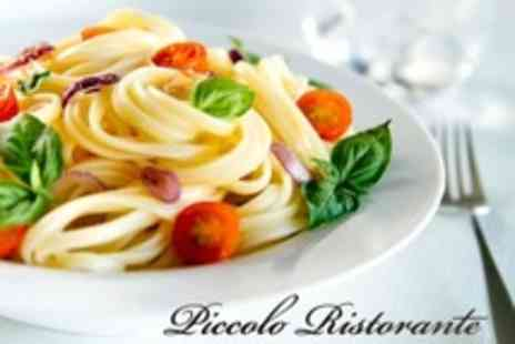 Piccolo Ristorante - Italian Lunch For Two - Save 30%