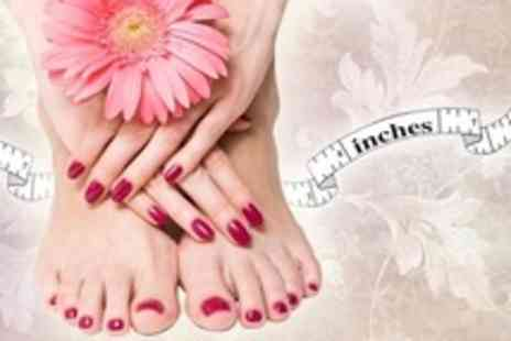 Beauty at Inches - One Gelish Manicure and Pedicure Appointments - Save 80%