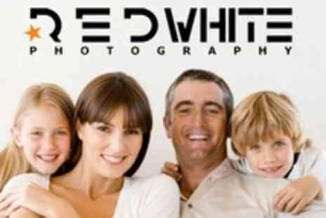 RedWhite Photography - Family Photoshoot With Print - Save 50%
