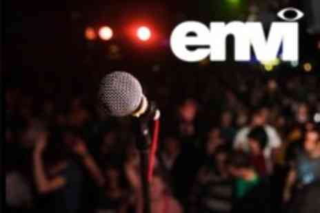 Envi - Christmas Comedy With Mince Pies and Wine For Two - Save 40%