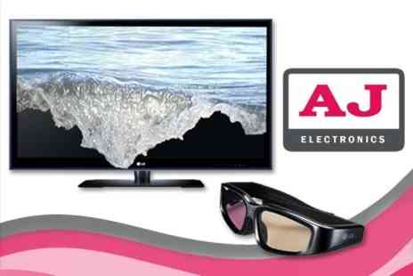 AJ Electronics - 3D LG 32 HD LED TV Plus 3D Glasses And HDMI Cable - Save 49%