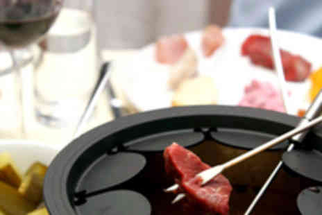 Montmartre Restaurant Francais - Champagne Fondue Lunch or Dinner for Two - Save 57%