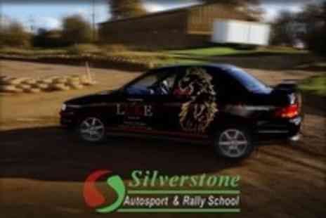 Silverstone Rally School - Rally Driving Laps With Tuition - Save 18%