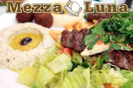 Mezzaluna - Three Course Moroccan Meal for Two - Save 70%
