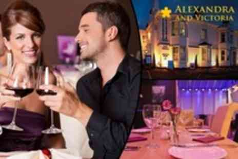 The Alexandra and Victoria - Five Course Tasting Menu For Two With Wine - Save 71%