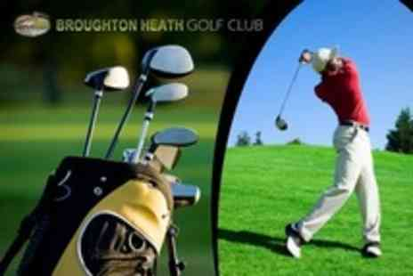 Broughton Heath Golf Club - Round of Golf With Breakfast Roll and Hot Drink Each For Two - Save 63%