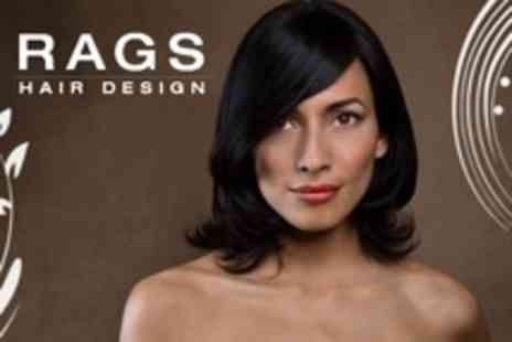 Rags Hair Design - Cut and Blow Dry Plus Conditioning Treatment with a Senior Stylist - Save 61%