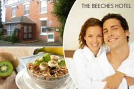 Beeches Hotel - In Grimsby One Night Bed and Breakfast For Two - Save 49%