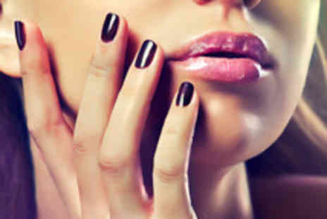 Little Beau Chic - 90 minute luxury manicure & pedicure including a glass of bubbly - Save 63%