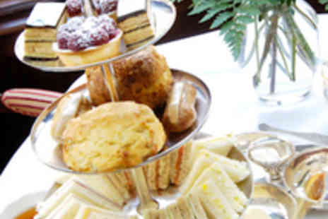 The Alexandra and Victoria Hotel - Afternoon Tea for Two with a Glass of Bubbly Each - Save 60%