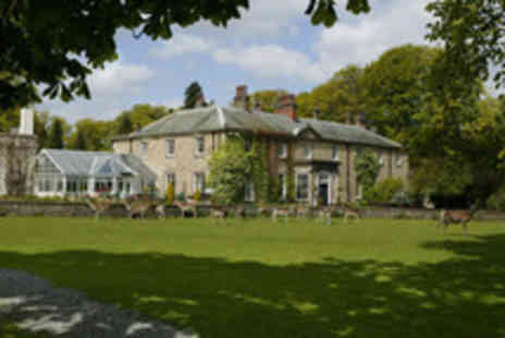 Whitworth Hall Hotel - Nights stay inc breakfast dinner plus wine - Save 35%
