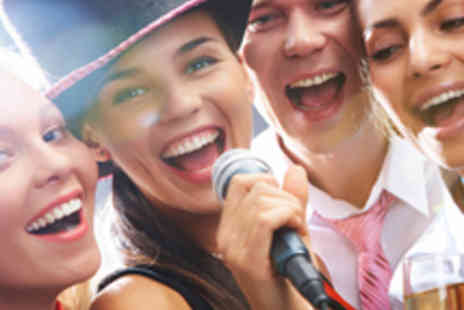 New World Cafe - Karaoke for Ten, with Bubbly and Sharing Platter - Save 93%