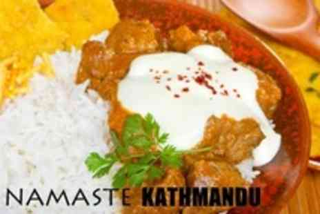 Namaste Kathmandu - Two Course Nepalese and Indian Meal For Two - Save 62%