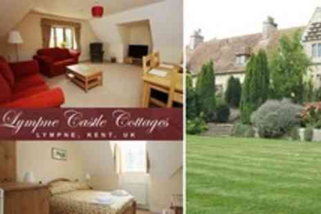 Lympne Castle Cottages - Two Night Self Catering Stay For Four - Save 59%