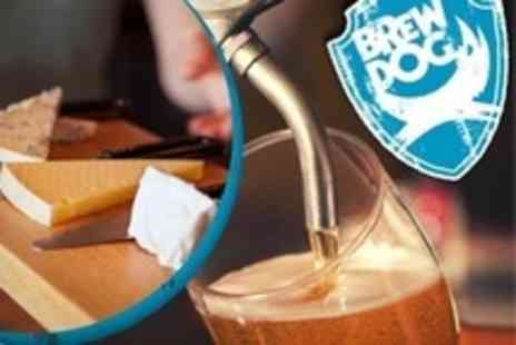 Brewdog Bars - Craft Beer Tasting With Cheese and Meat Platter For One - Save 40%