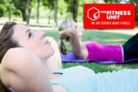 The Fitness Unit - One Month of Boot Camp Sessions - Save 24%