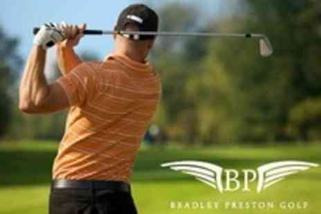 Bradley Preston Golf - Three Golf Lessons With PGA Professional - Save 81%
