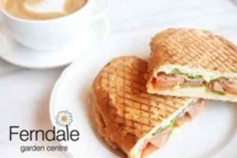 Ferndale Garden Centre - Lunch For Two With Coffee - Save 40%
