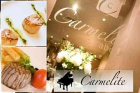 Carmelite Bar and Grill - Two Course European Meal For Two - Save 53%