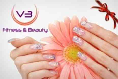 V3 Fitness and Beauty - Shellac Manicure or Pedicure - Save 20%