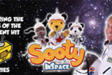 Boom Entertainment - Tickets to Sooty in Space - Save 50%