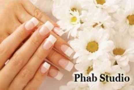 Phab Studio - Luxury Sculptured Acrylic Nails With Optional Enhanced Length - Save 60%