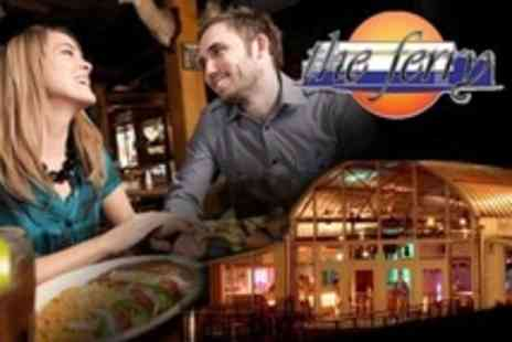 The Ferry - Three Course Meal With Live Music For Two - Save 52%