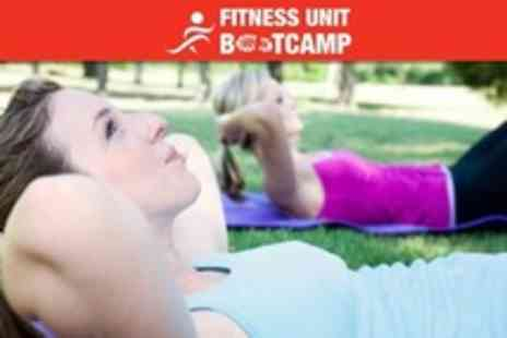The Fitness Unit Bootcamp - One Month of Boot Camp Sessions - Save 24%