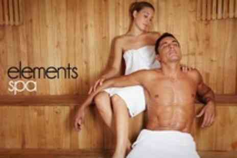 Elements Spa - Two Hour Session With Access to Hydro Spa and Other Facilities For One - Save 72%