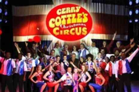 Gerry Cottle Circus - Two Adult Tickets - Save 53%