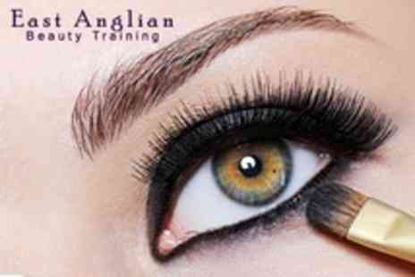 East Anglian Beauty Training - Eyebrow Design and Make Up Workshop For One - Save 64%