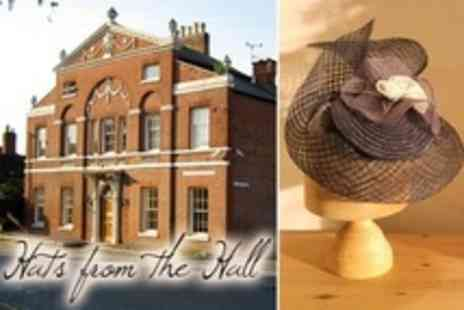 Hats from the Hall - Hat Making Workshop With Lunch and Cream Tea - Save 22%