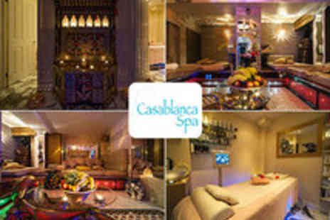 Casablanca Spa - Moroccan Hammam Spa Experience for Two - Save 62%