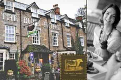 The Bull Hotel - Two Courses of British Fare For Two - Save 50%