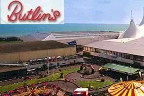 Butlins HO - Four Night Stay For Four in Self Catering Apartment - Save 66%