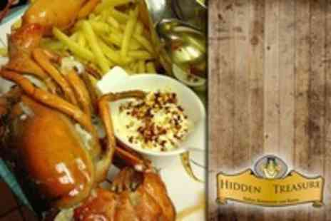 Hidden Treasure - Lobster and Chips Meal For Two - Save 33%