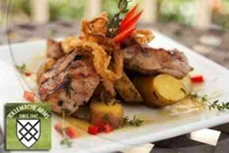 The Tollemache Arms - Modern British Cuisine Two Courses For Two With Coffee - Save 57%