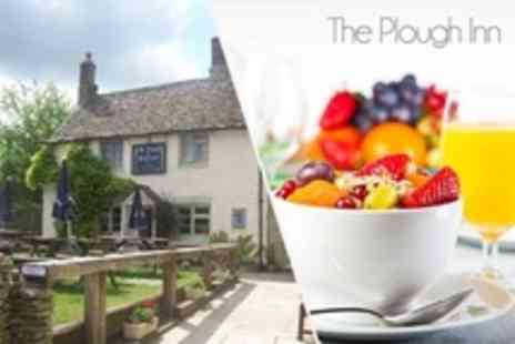The Plough Inn - In Cotswolds Two Night Stay For Two With Afternoon Tea - Save 21%