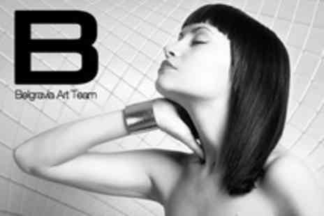 Belgravia Art Team - Brazilian Blow Dry - Save 66%