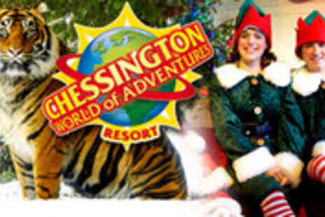 Chessington World of Adventures - Elves Winter Getaway to Chessington World of Adventures - Save 40%