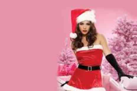 Posh Treat - Mrs Santa Christmas Party Outfit - Save 32%