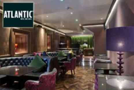 Atlantic Hotel - In North Coast Two Night Stay For Two With Breakfast and Cocktails - Save 52%