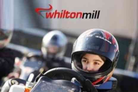 Whilton Mill - 50 Laps Go Karting For One - Save 6%