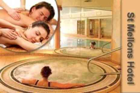 St Mellons Hotel - Spa Day For One ith Massage or Facial Plus Lunch and Prosecco - Save 53%