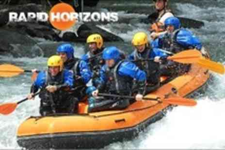 Rapid Horizons - Rafting For One - Save 50%