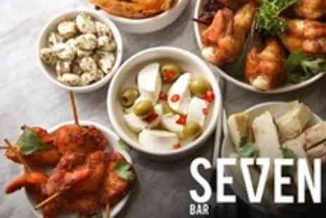 Seven Bar - All You Can Eat Tapas For Two - Save 53%